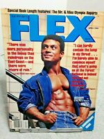 FLEX Magazine April 1986 Mohamed Makkawy Mike Christian Gaspari Mae Mollica