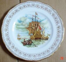 Gainsborough Fine China Collectors Plate Sail Boat Ship