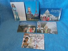 2009 Barbie Doll Convention Lot of 6 Unused Postcards Great for Scrapbooking