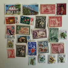More details for 400 different fiji stamps collection