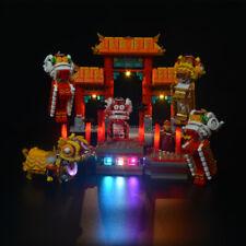 LED LIGHT KIT FOR LEGO 80104 Lion Dance Lighting LEGO building set bricks 80104