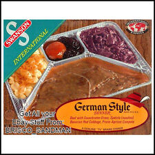 Fridge Fun Refrigerator Magnet SWANSON INTERNATIONAL TV DINNER: GERMAN Retro