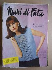 MANI DI FATA n°5 1967 con cartamodelli  [C59]