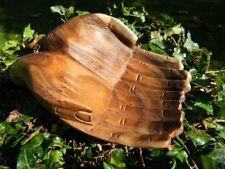 Wooden Hand Bowl Carved Begging Hands Trinket Key Loose Change Coins Bowl 20cm