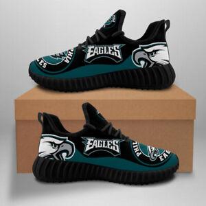 Philadelphia Eagles Sneakers Shoe Men's Mesh Trail Running Training Shoes