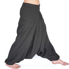 HAREM TROUSERS Ali Baba Pants Aladdin Afghan Genie Hippy Yoga Jumpsuit Cotton