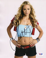 LAURA VANDERVOORT SIGNED AUTOGRAPHED 8x10 PHOTO SMALLVILLE VERY SEXY PSA/DNA