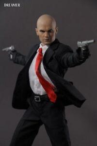 Dreamer 1/6 Scale Hitman 47 Timothy Olyphant Male Action Figure Head Sculpt Toys
