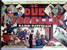 Radio Pattuglia - Le Due Sorelle 1938 - Anastatica Nerbini [C21C]