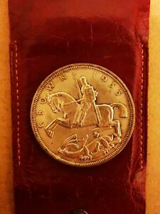 A Dancing Horse Silver Crown Coin From 1935