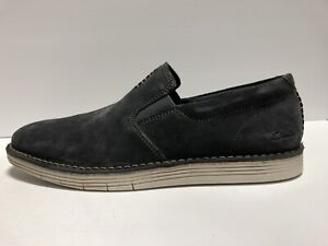 Clarks Forge Free Storm Suede Loafer Mens Size 11.5 M