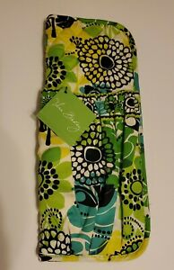 Vera Bradley Straighten Up And Curl Lime's Up NWT 2 Pocket Holder FREE SHIPPING