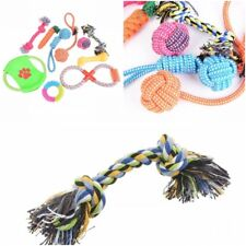 Dog Toys Set Pet Rope Funny Play Teaser Chew Grinding Teeth Bite Ball Gnawing