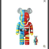 Medicom Toy BE@RBRICK BEARBRICK Kikaider 100% & 400% set F/S Limited product