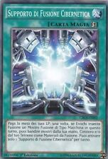 3x Supporto di Fusione Cibernetica YU-GI-OH! CROS-IT092 Ita COMMON 1 Ed.