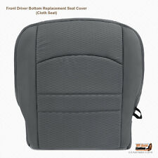 2013 2014 2015 Dodge Ram 1500 2500 3500 Driver Bottom Fabric Seat Cover In Gray