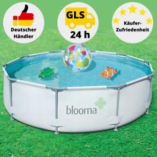 Blooma Schwimmbecken Pool Gartenpool 305 X 76 Cm mit Filterpumpe 56050