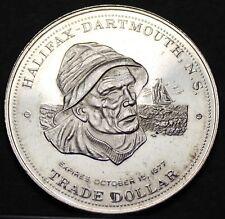 Halifax Dartmouth Canada Trade Token Dollar 1977~UNC~Free Shipping