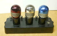 Rare 1923 Sonatron 3 Tube Power Amplifier Red Mx30 Blue Mx6 White Mx20