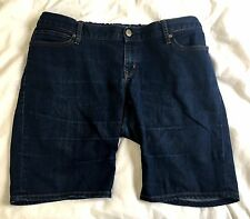 Gap 1969 Always Skinny Maternity Jeans Denim Shorts Bermuda 31/12