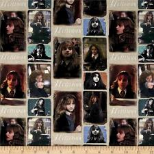Harry Potter Digital Hermione Multi Camelot 100% cotton fabric by the yard