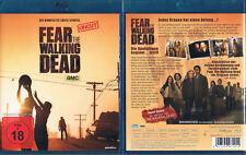 FEAR THE WALKING DEAD - Staffel 1 --- Blu-ray --- Uncut --- FSK 18 ---