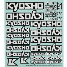 Adesivi Kyosho Decals Bianco per Kyosho MP9 TKI3 TKI4 - 36276