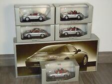 Porsche 911 Targa Set (5 cars) - Minichamps WAP 020 1:43 in Box *34687
