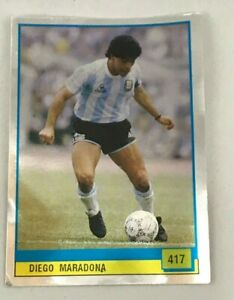 Figurina 417 MARADONA Album VALLARDI PANINI GRANDE CALCIO world cup sticker NEW