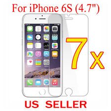 """7x Clear LCD Screen Protector Guard Cover Shield Film For Apple iPhone 6S (4.7"""")"""