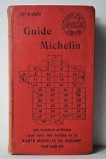 Guide MICHELIN 1919.Complet, en bon état et propre.