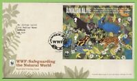 G.B. 2011 WWF Natural World M/S Royal Mail First Day Cover, Godalming