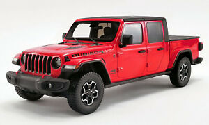 JEEP GLADIATOR RUBICON PICKUP TRUCK RED 1:18 MODEL CAR GT SPIRIT FOR ACME US024