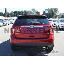 Fit for 2010-2014 FORD EDGE Chrome Rear Trunk Streamer/ Tailgate Cover Logo Cut