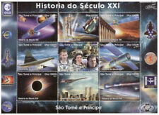 St Thomas & Prince - 2004 - History of Space - 9 Stamp Sheet - MSTP5