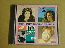 """POPCORN CD / FOUR """"BOPPIN"""" LADIES OF THE SIXTIES - VOL. 1"""