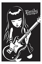 (LAMINATED) EMILY THE STRANGE POSTER (61x91cm) BASS GUITAR PICTURE PRINT NEW ART