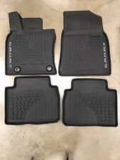 2018 Toyota Camry FLOOR LINERS MAT RUBBER ALL WEATHER TOYOTA OEM PT908-03180-20