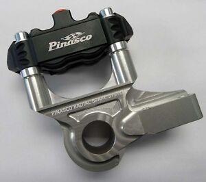 PINASCO VESPA PX FRONT BRAKE CALIPER BLACK & SILVER 26280000