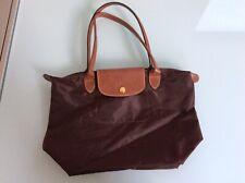 Longchamp Le Pliage Women's Small Brown Tote Bag  37 x 25 x 13 cm