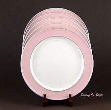 Martha Stewart, Petal Banded Bistro, Dinner Plate (s), MINT & NEAR MINT! Pink