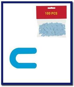 DTA Horseshoe Blue Colour Spacers 1.5mm (200 Pcs Bucket)