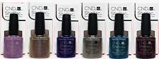 CND Gel Polish .25oz-All 6 shades from NIGHTSPELL Shellac - 91590-94,96