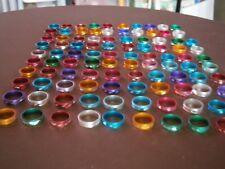 100 Ringe Ring Sonderposten Restposten Wurfmaterial Karneval Modeschmuck Mode 2