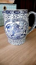 Pottery, Porcelain & Glass Antique William Adams Blue And White Tokio Large Mug Tankard C1896-1914 Tokyo