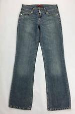 Levis eve 577 W31 L34 tg 44 45 jeans blu square cut bootcut boyfriend usato