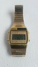 Seiko Vintage Digital Alarm Chronograph LCD Watch A158- 5040d