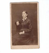 CDV Foto Feine Dame - Pfaffenhofen 1880er