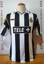Juventus Turin 2000-2001 Home Camiseta Futbol Lotto  CiaoWeb Shirt Trikot Maglia