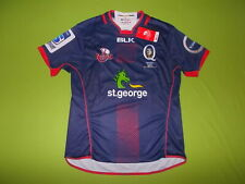 NEW Shirt QUEENSLAND REDS (L) BLK 2016 PERFECT !!! Rugby away AUSTRALIA QLD REDS